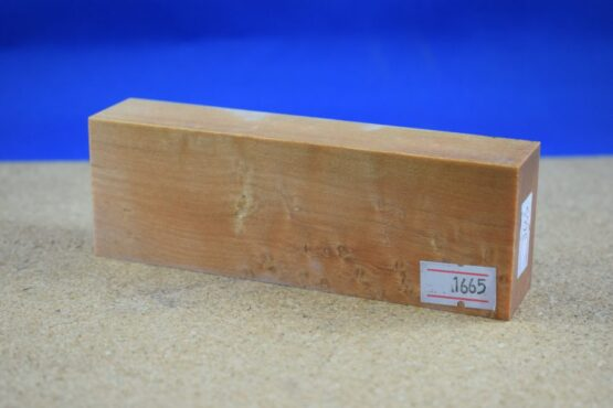 Stabilised Birdseye Maple Block * 1665