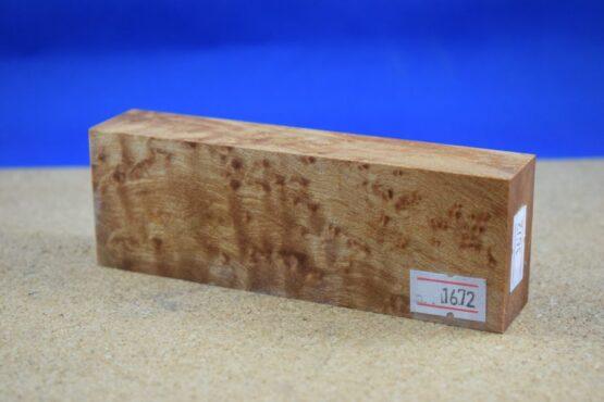 Stabilised Birdseye Maple Block * 1672
