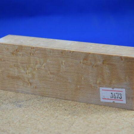 Stabilised Birdseye Maple Block * 1673