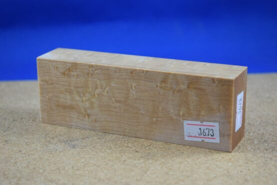 Stabilised Birdseye Maple Block * 1673