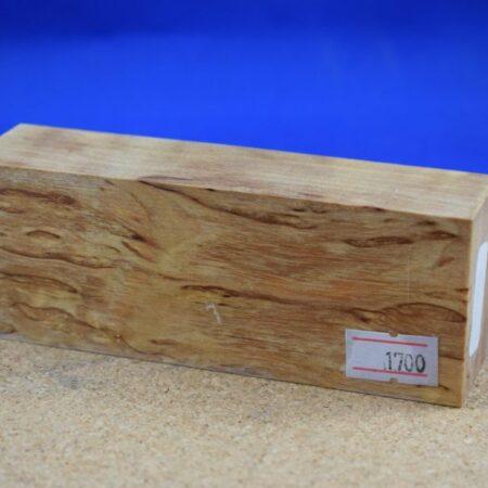 Stabilised Birdseye Maple Block * 1700