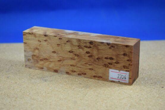 Stabilised Birdseye Maple Block * 1704