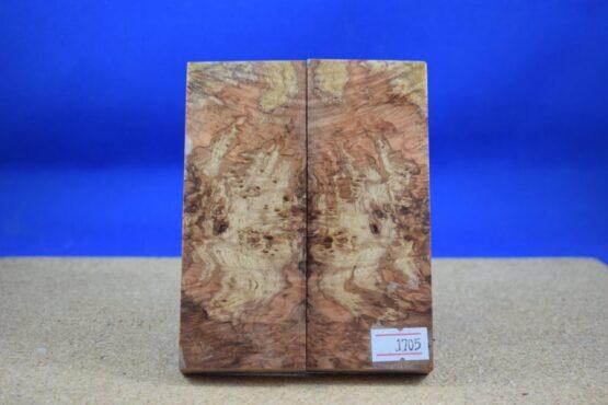 Stabilised Birdseye Maple Scales * 1705