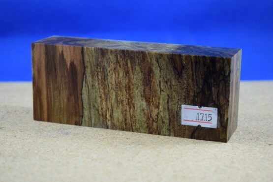 Stabilised Birdseye Maple Block * 1715