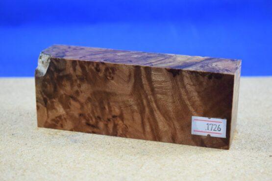 Stabilised Birdseye Maple Block * 1726