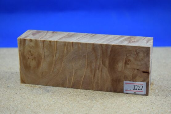 Stabilised Birdseye Maple Block * 1727