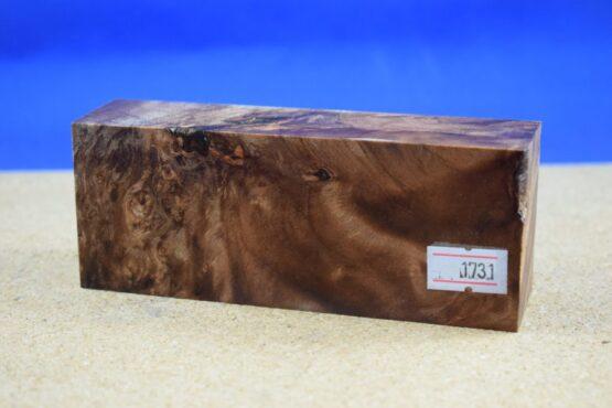 Stabilised Birdseye Maple Block * 1731