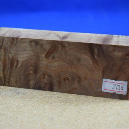 Stabilised Birdseye Maple Block * 1736