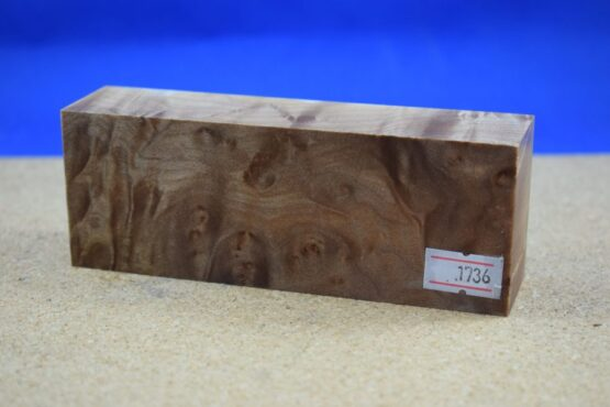 Stabilised Birdseye Maple Block * 1736
