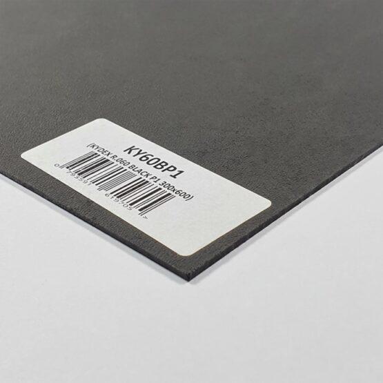 Kydex Sheet 1.5 x 300 x 600 mm Black