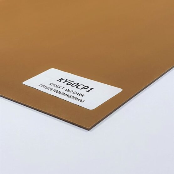 Kydex Sheet 1.5 x 300 x 600 mm Dark Coyote (Brown)