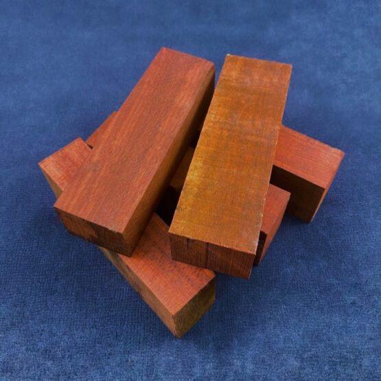 Brazilian Bloodwood Handle Block 30 x 45 x 140 mm