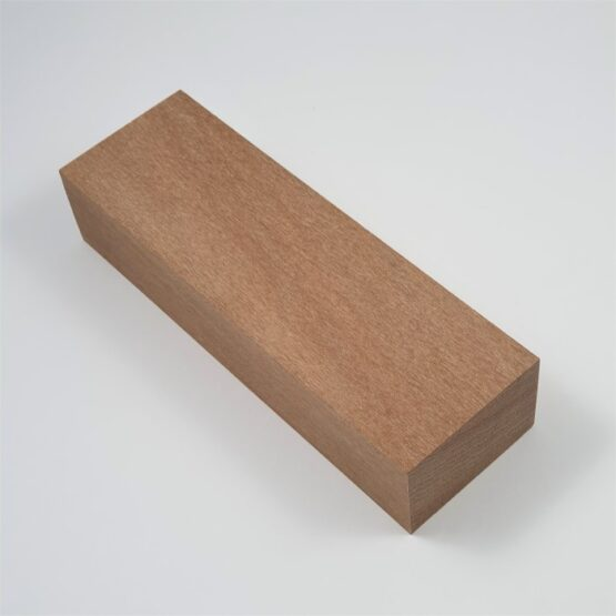 Brushbox Handle Block measuring approximately 30 x 45 x 140 mm