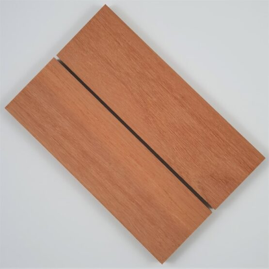 Jarrah Handle Scales each measuring approximately 10 x 45 x 140 mm