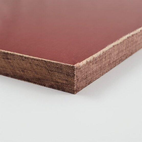"""Linen Micarta Sheet 9.5 (3/8"""") x 127 x 304 mm Red"""