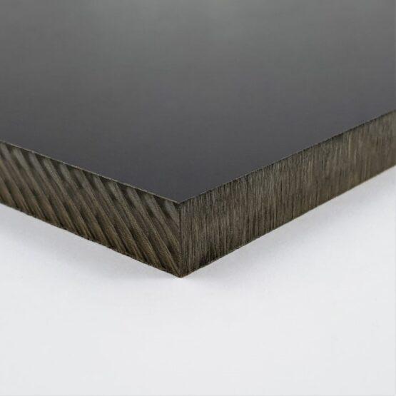 """Paper Micarta Sheet 9.5 (3/8"""") x 127 x 304 mm Black"""
