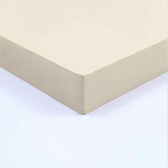 "Paper Micarta Sheet 9.5 (3/8"") x 127 x 304 mm Ivory"