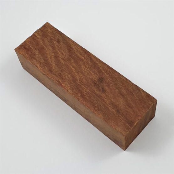 Red Ironbark Handle Block measuring approximately 32 x 45 x 140 mm