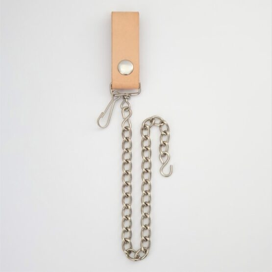 Wallet Chain with Leather