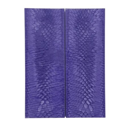 2 Juma handle scales with a purple dragon pattern and width of 43 mm