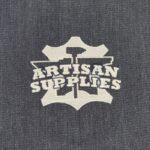 Artisan Supplies Denim Apron Logo