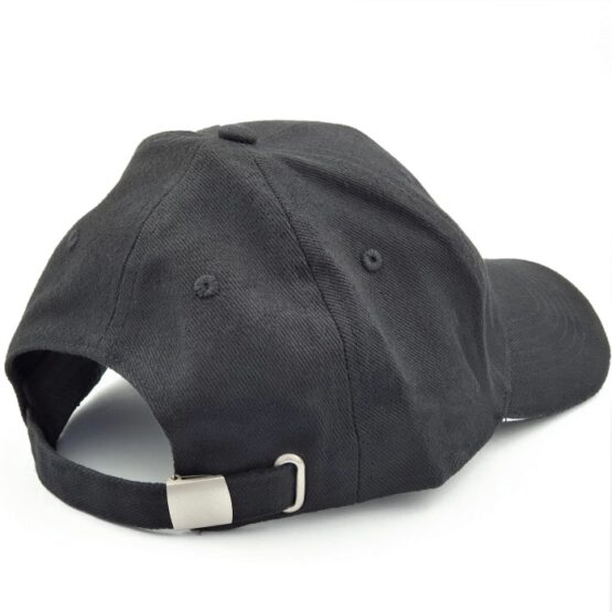 Adjustable strap at the back of the Artisan Supplies cap black