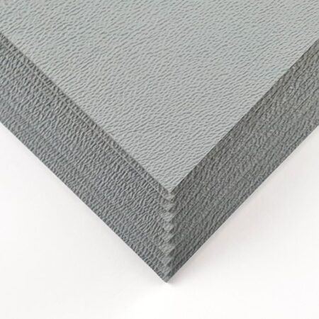 """Kydex set containing 10 sheets of 2 mm (0.080"""") thick pewter grey kydex"""