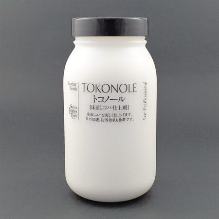 500 g tub of tokonole leather burnishing gum neutral