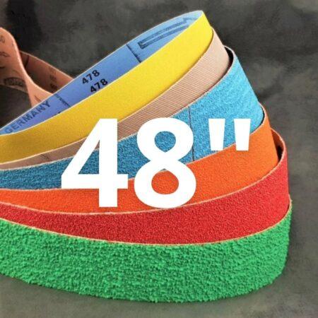 """50 x 1220 mm (2 x 48"""") Abrasive Belts"""