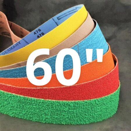 """50 x 1525 mm (2 x 60"""") Abrasive Belts"""