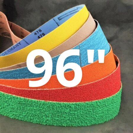 """50 x 2440 mm (2 x 96"""") Abrasive Belts"""