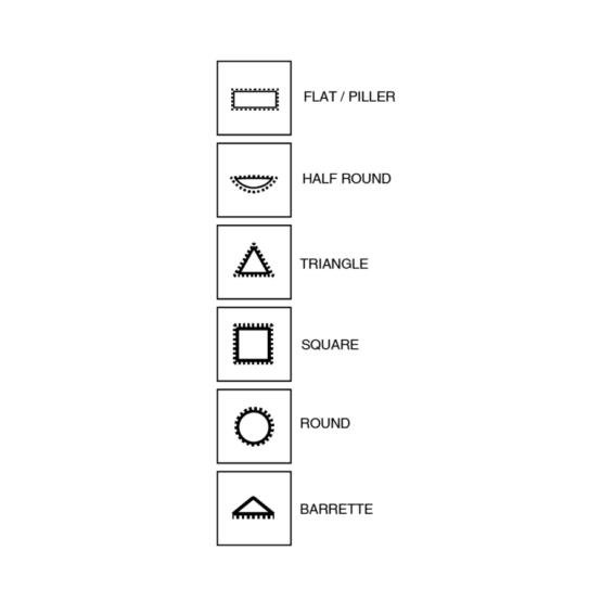 File Guide for Vallorbe Valtitan needle files