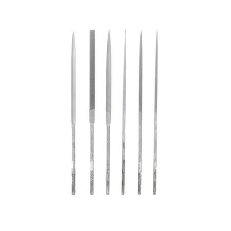 Vallorbe Valtitan needle files are 180 mm in length