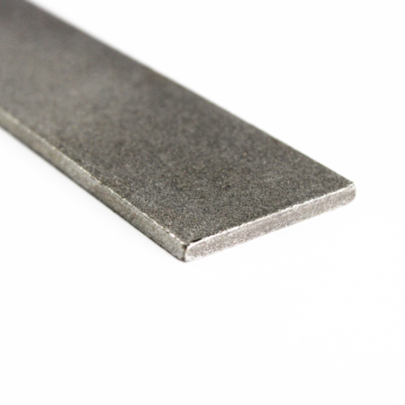 One bar of Hitachi Blue Paper Steel close up focused on steel layering.