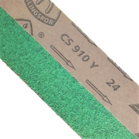 "2 x 60"" Green Necro Reaper Ultra Premium Ceramic Abrasive Belt"